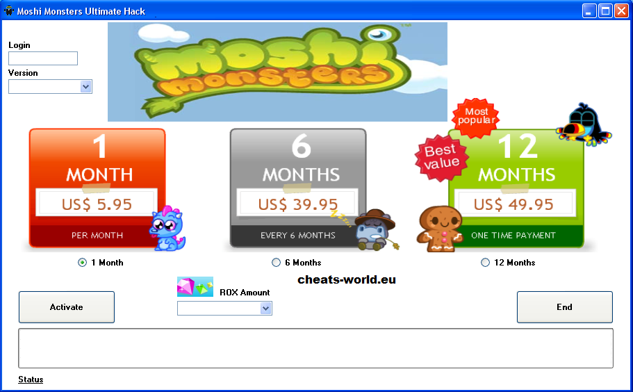 Moshi Monsters Membership Codes